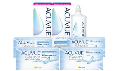 Acuvue Oasys + Oasys For Astigmatism Kombi Set lens