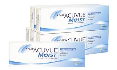 Acuvue Moist Astigmatism Kombi Set 6 kutu lens
