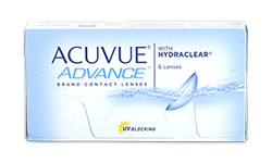 Acuvue ADVANCE lens