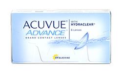 Acuvue ADVANCE lens