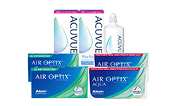 Air Optix Aqua + Air Optix For Astigmatism Kombi Set lens