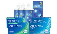 Air Optix Aqua + Air Optix Toric Set Complete Solüsyonlu