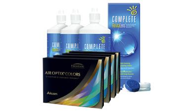 Air Optix Colors Kombi Set Numarasız (Complete Solüsyonlu)