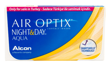 Air Optix Night and Day AQUA lens