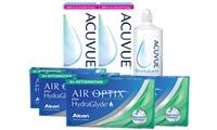 Air Optix Plus HydraGlyde® for Astigmatism Kombi Set 4 Kutu