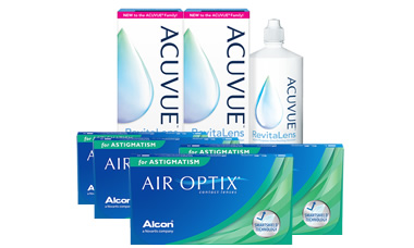 Air Optix for Astigmatism Kombi Set 4 Kutu lens
