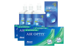 Air Optix for Astigmatism Kombi Set 4 Kutu (Complete Solüsyonlu) lens