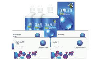 Biofinity + Biofinity Toric Kombi Set (Complete Solüsyonlu)