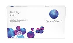 Biofinity Toric  lens
