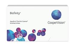 Biofinity lens