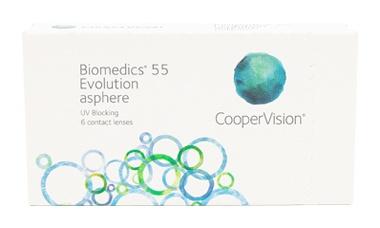 Biomedics 55 lens