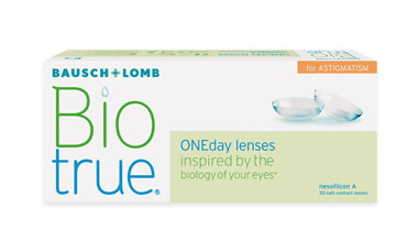Biotrue ONEday Astigmatism 30 lu Kutu lens