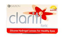 Clariti Toric lens