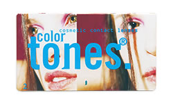Color Tones Renkli Numaralı lens