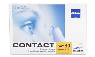 Contact Day 30 (Yüksek Numara) lens