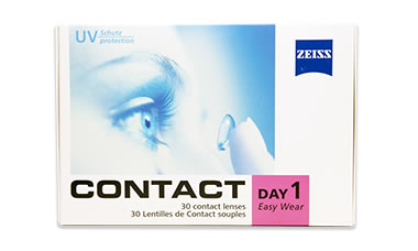 Contact Day 1 Easy Wear lens