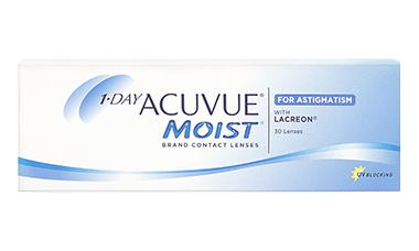 1DAY ACUVUE® MOIST for ASTIGMATISM 30 lu Kutu lens