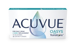 Acuvue OASYS ® with Transitions™ lens