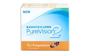 Purevision 2 HD for Astigmatism lens