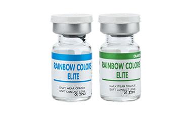 Rainbow Color Elite Numarasız lens